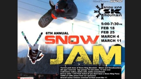 Going on RIGHT NOW at the base of Snow King in Jackson Hole! The sixth annual Wednesday Night Lights snowjam. Come support the local shredders throwing down in the park! #avalon7 #liveactivated #snowboarding #skiing #supportlocalkids www.avalon7.co