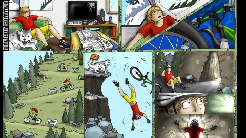 Gateway to Winter comic part 1 by @kyehalpin #avalon7 #liveactivated www.avalon7.co
