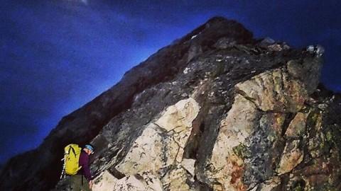 If you are in the right place, at the right time, and you speak very softly, you can talk to the Moon. If you are very lucky she will speak back to you. But you have to be very close, almost touching the sky… @kyehalpin nearing the summit of Buck Mountain in the Tetons. #onceinabluemoon #AVALON7 #liveactivated #climbing #jhlifeWww.avalon7.co