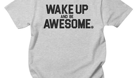 New! Wake Up And Be Awesome shirts are now up in our online store.  Perfect for your next adventure! #avalon7 #wakeupandbeawesome www.avalon7.co