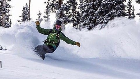 Adventurer @devinthemountains ripping sweet sweet pow.  Winter is coming!  Photo @lifefeelingphotography #avalon7 #liveactivated #snowboarding www.a-7.co