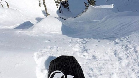 @camfitzpatrick Just the tip.  #A7Renegade #liveactivated #snowboarding @arborsnowboards