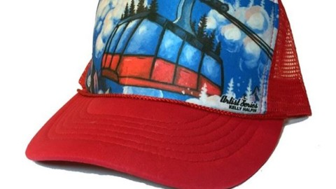 To celebrate the @jacksonhole Tram re-opening for the summer season (and giving us epic backcountry shred access!) we've got this sweet Party Tram trucker hat by artist @kyehalpin on sale for 20% off!  Just use the code PARTYTRAM at checkout on www.avalon7.co ? #AVALON7 #liveactivated #truckerhat #limitededition