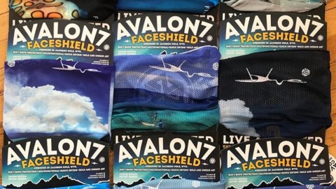 So stoked on this amazing new custom FaceShield collection for @bigblueunlimited in Turks and Caicos! Photos of whales, shells, scuba divers, and kite surfers by the amazing @philipshearer. Thanks guys!! #liveactivated #islandlife #surfing #sup #scuba #firstinlastout