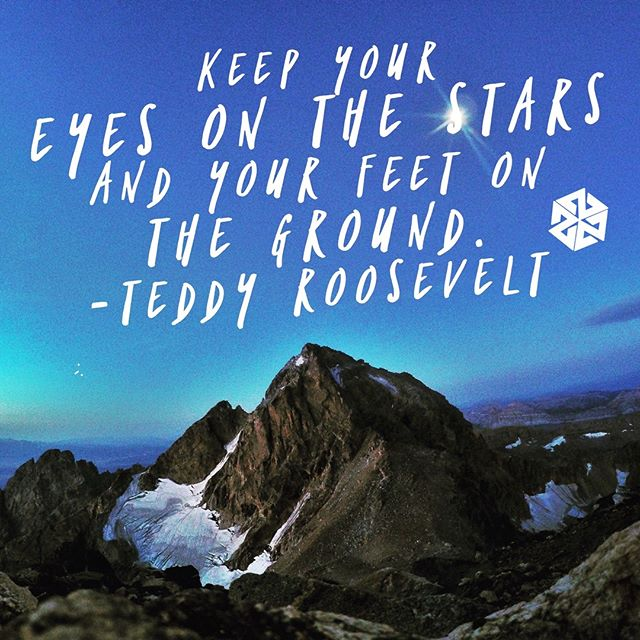 Keep your eyes on the stars. www.A-7.co #avalon7 #futurepositiv #quotes