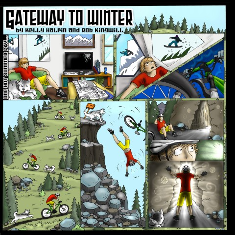 """GATEWAY TO WINTER"" BY KELLY HALPIN AND ROB KINGWILL"