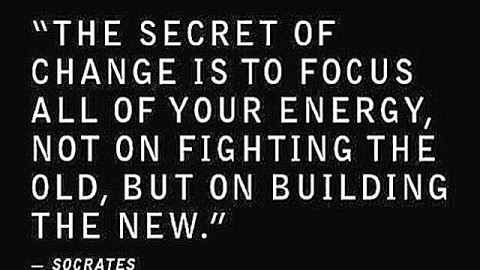 Change is the only constant. Build some thing awesome! #avalon7 #futurepositiv www.avalon7.co