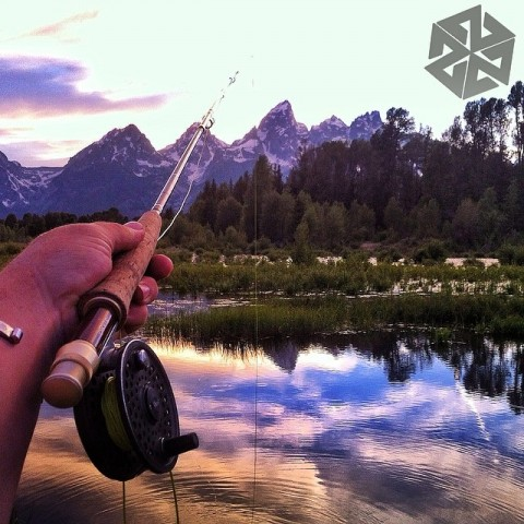 Flyfishing is good for the soul. #avalon7 #flyfishing #jacksonhole