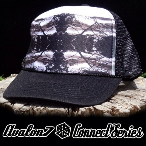 One of my favorite hats from the Connect Series- photographed on Teton Pass in Wyoming one cold winters day. Available at www.avalon7.co #avalon7 #connectseries #truckerhat