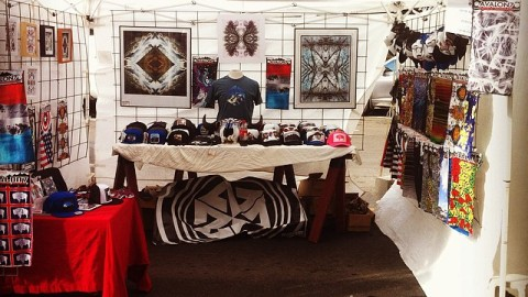 Hustlin art, hats and facemasks all day at the JH locals art fair. #thejourneyisthereward #makeyourdreamsareality #avalon7 #liveactivated www.avalon7.co