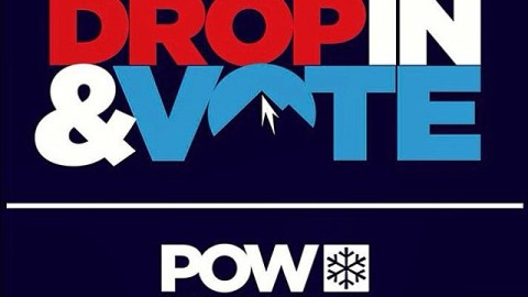 Today is the day! Wake up and VOTE. The planet needs you. #dropinandvote @protectourwinters