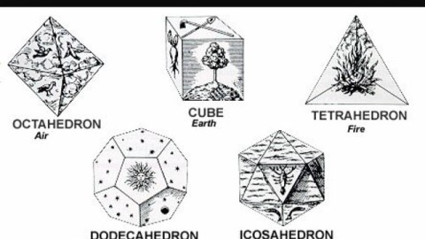 The 5 Platonic solids. There is a 6th mystical shape, also found within Metatron's cube. This is the star tetrahedron, made up of 2 tetrahedrons. This powerful shape is also called a Merkaba. It contains within it the geometry of the cube, the octahedron and the tetrahedron. The word Merkaba, in ancient Egyptian, is translated as MER: rotating fields of light, KA: spirit, and BA: soul and in Hebrew it means 'chariot'. #AVALON7 #sacredgeometry www.avalon7.co