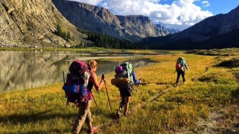 The girls are getting after it again, this time on an adventure in the Wind River mountains. Where will your adventure take you? @kyehalpin #AVALON7 #liveactivated #hiking www.avalon7.co