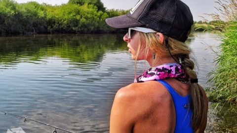 @kyehalpin rocking the new Wyoming Cowboy Camo Faceshield while fishing on the Teton River. #avalon7 #liveactivated #fishing www.avalon7.co