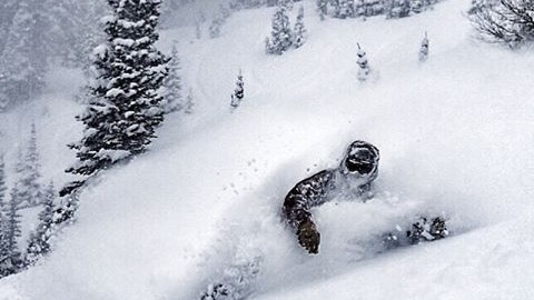 Testing conditions were all time this past week @jacksonhole for the @jhpowwow! Shane Rothman digs deep. #avalon7 #liveactivated #snowboarding #jhpowwow www.followthestoke.com