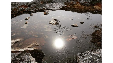 A scrying pool in Greenland reveals visions of the future… #avalon7