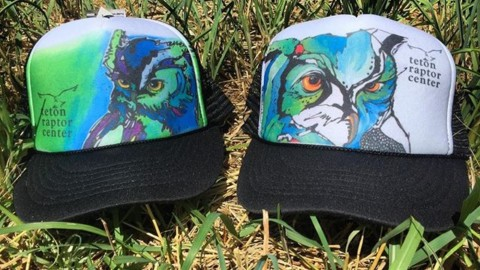 Our newest trucker hat collaboration with JH artist @nicolegaitan11 look amazing! Available exclusively at the @tetonraptorcenter to help raise money for their injured birds rehabilitation programs. Stop by and grab one before they are gone! #avalon7 #liveactivated #art #owls #nicolegaitanart  www.avalon7.co