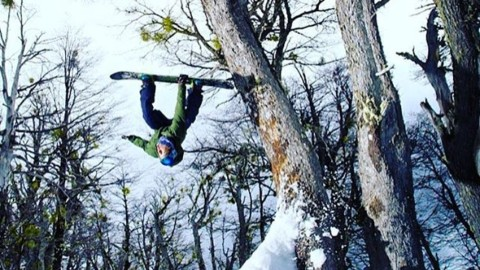 @chasejosey is flipping out. ##winteriscoming #liveactivated #snowboarding #a7renegade