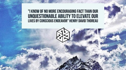 """I know of no more encouraging fact than our unquestionable ability to elevate our lives by conscious endeavor"" Henry David Thoreau #avalon7  #liveactivated www.a-7.co"