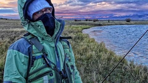Colder weather means you gotta bundle up if you want to chase fish. Our faceshields will help you keep warm and #staystoked in the outdoors! #avalon7 #liveactivated #flyfishing www.a-7.co