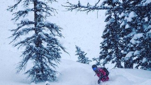 It's deeeep out the in @jacksonhole! #A7Renegade @kyehalpin enjoys the moment.  #momentsofstoke #avalon7 #liveactivated #snowboarding www.a-7.co