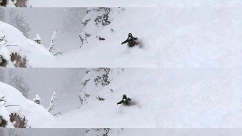 Ripper @halinalaboyd slashes into the land of dreams… #AVALON7 #liveactivated #snowboarding #A7Renegade