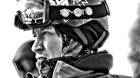 @robkingwill puts on his game face at the Legendary Mt Baker Banked Slalom this weekend. Photo: Rick Kadar  #AVALON7 #liveactivated #snowboarding