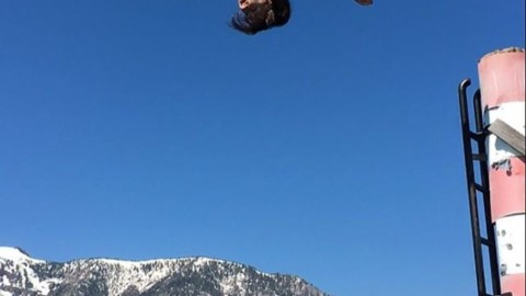 Summer is for sending!  Team rider @caseylucassnow flips out Tahoe. #avalon7 #liveactivated #staywild