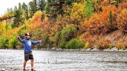 Fall is for fishing. @avalon7 #liveactivated #flyfishing #seekthespark www.a-7.co