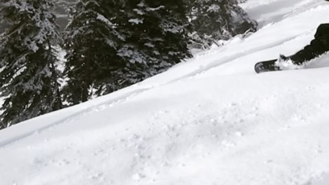 @francosnowshapes slashes some hot pow on opening day at @jacksonhole. We've slashed prices for Small Business Saturday! 20% off all FaceShields and apparel now through Monday with the code: winteriscoming at www.avalon7.com #staystoked #liveactivated #snowboarding