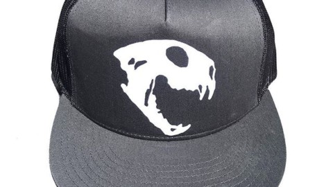 Rarrr! Let your inner lion roar with this bobcat skull Spirit Series SnapBack. Design by @robkingwill Handcrafted in the Tetons and available now at www.avalon7.com #seektheunique