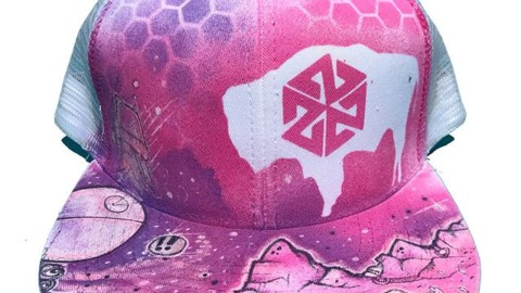 Check these fresh, one of a kind, hand painted hats from the one and only @ruckusart77! Available now in our online store.  Get 20% off now through Memorial Day with the code REMEMBER. www.avalon7.com #avalon7 #seektheunique #art