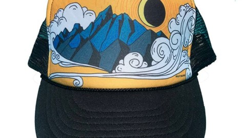 Rad new trucker hats by @kyehalpin just dropped in our online store. Pick one up for your next adventure! Www.avalon7.com #seekthestoke #handcraftedinthetetons