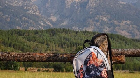 Take the Tetons with you when you go back to school with our new A7 daypacks! Perfect for carrying your computer and books around town. Pick one up for your next adventure! Back to school sale on now! 20% off everything with the code: seekthestoke20 #avalon7 #seekthestoke www.a-7.co