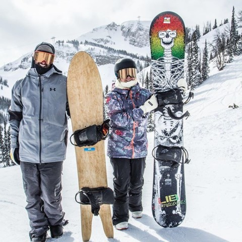 You'll never know unless you try. Our testers at the @jacksonhole @shapersummit put over 100 boards through their paces, including these beauties from @igneousskis  and @libtechnologies Check the results at www.ratedradical.com! #snowboarding #seekthestoke