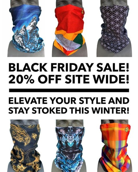 Stay Stoked this Winter! Get 20% off all our new Artist Series FaceShields, hats and apparel through Monday with the code: StormReady at www.avalon7.com #seekthestoke #snowboarding