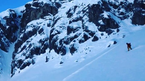 Powder quest.  Sweet dreams! Rider: @robkingwill  Video: @rylandbell while filming for @warrenmillerent in #Switzerland.