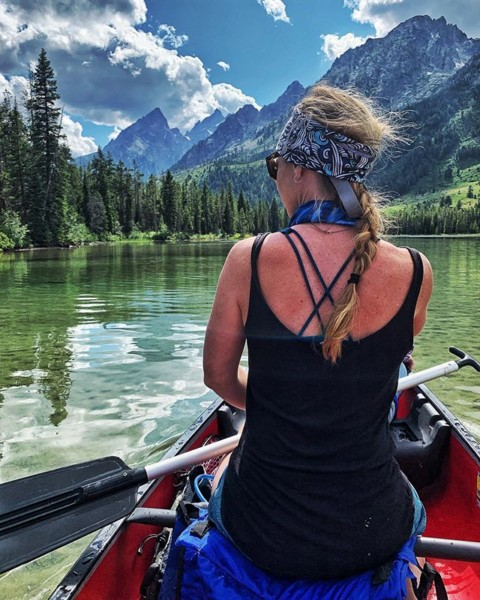 Float on. A7 Classic Tubes make great headbands too!  Our limited edition designs will make sure your style is on point.  #AVALON7 #SeekTheStoke #canoeing www.avalon7.com