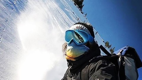 The early bird gets the worm. @dustinvarga has been out  testing early season conditions in JH rocking his trusty A7 Mesh Facemask to protect his face from all that weird white stuff. :) Are you ready for winter?  #itsON #AVALON7 #LiveActivated #snowboarding #rockdodging  www.avalon7.com