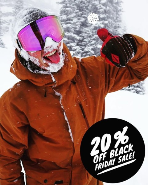 "What's your #PowFace look like?  Elevate your style and keep your face from freezing off on your next day in the mountains with a new A7 Facemask!  Get 20% off during our  Black Friday sale now thru this weekend with the code ""SPIRITUS"". #AVALON7 #LiveActivated #snowboarding #skiing"