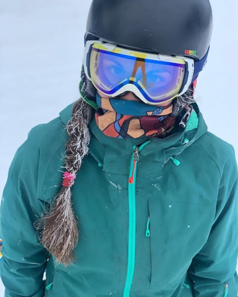 Our new Sacred Triangles necktube design is . Perfect for keeping your face warm and happy this winter!  Check out all our new designs at www.avalon7.com!  #happyface #AVALON7 #LiveActivated #snowboarding #facemasks #stockingstuffers
